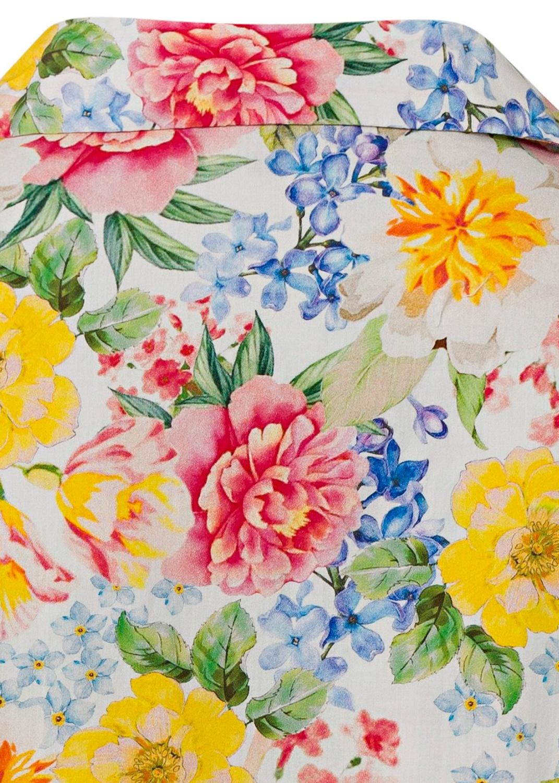 Fantastic flower collar dress image number 3