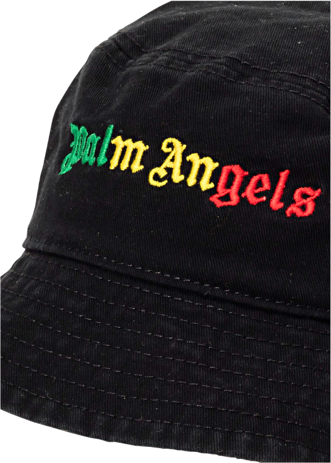 MIAMI LOGO BUCKET HAT BLACK MULTICOLOR image number 1