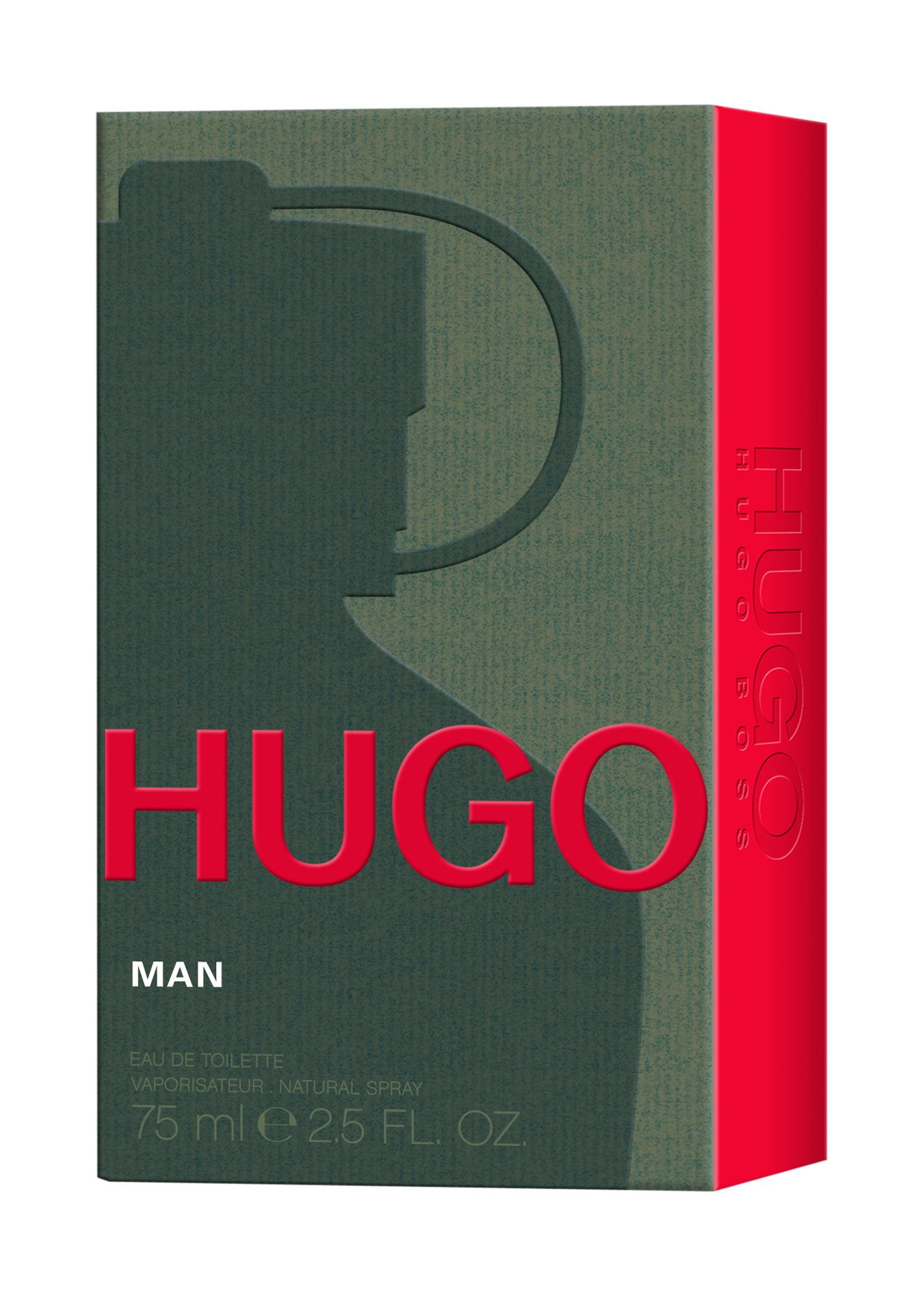 HUGO MAN EDT 75ML image number 1
