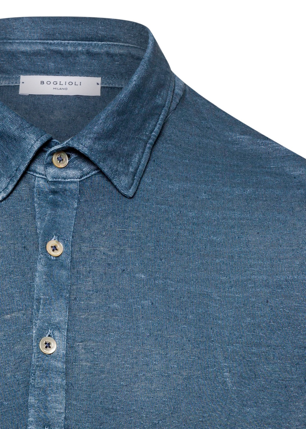 Leinen Jersey Polo image number 2