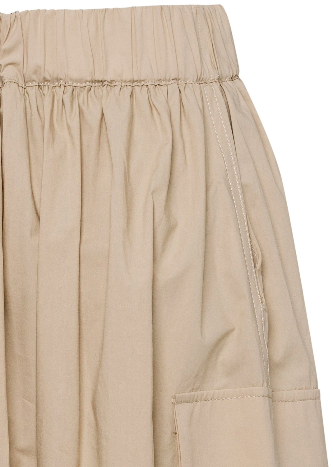 Cotton skirt female image number 3