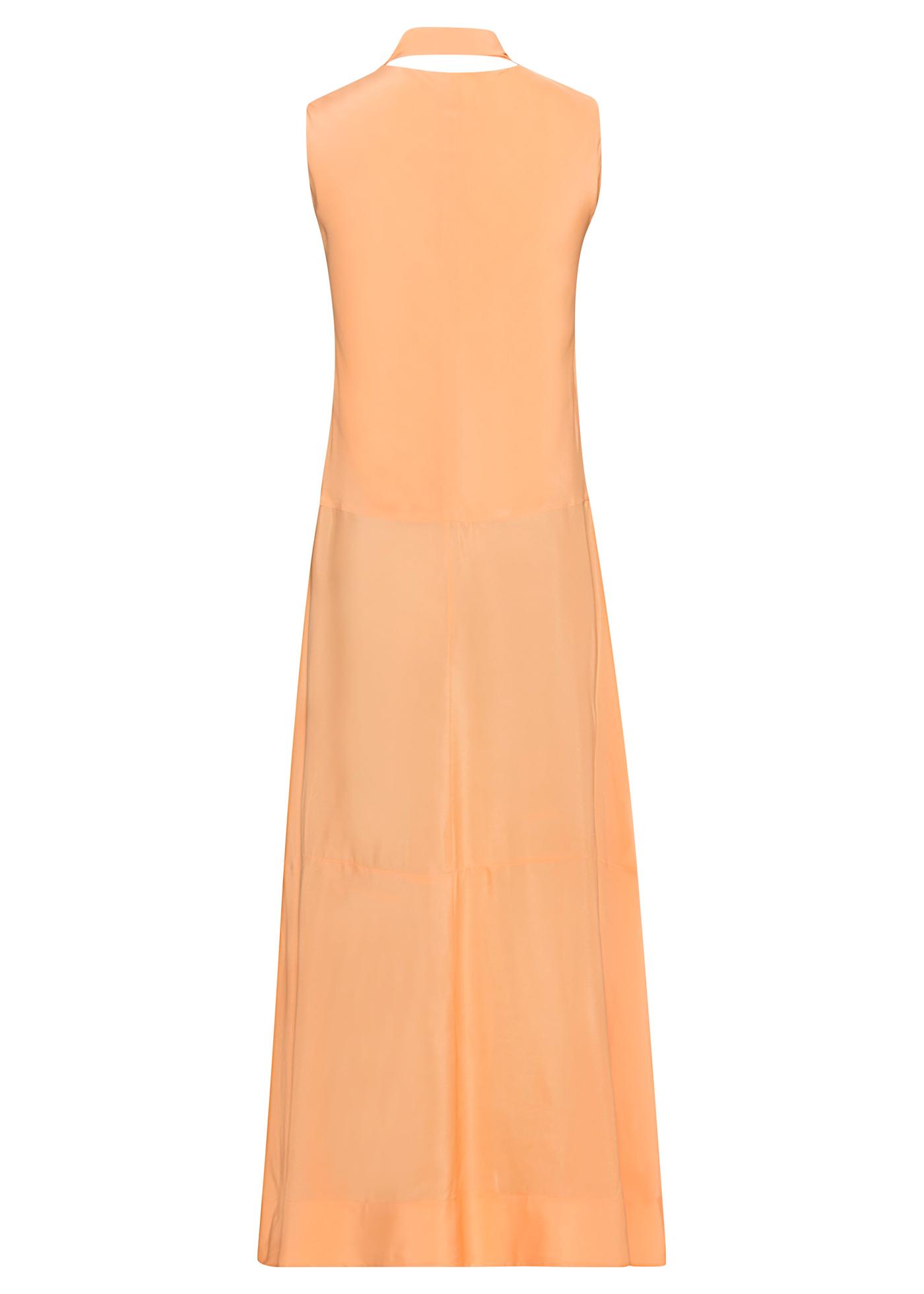 Sleeveless Silk Cdc Midi Dress image number 1