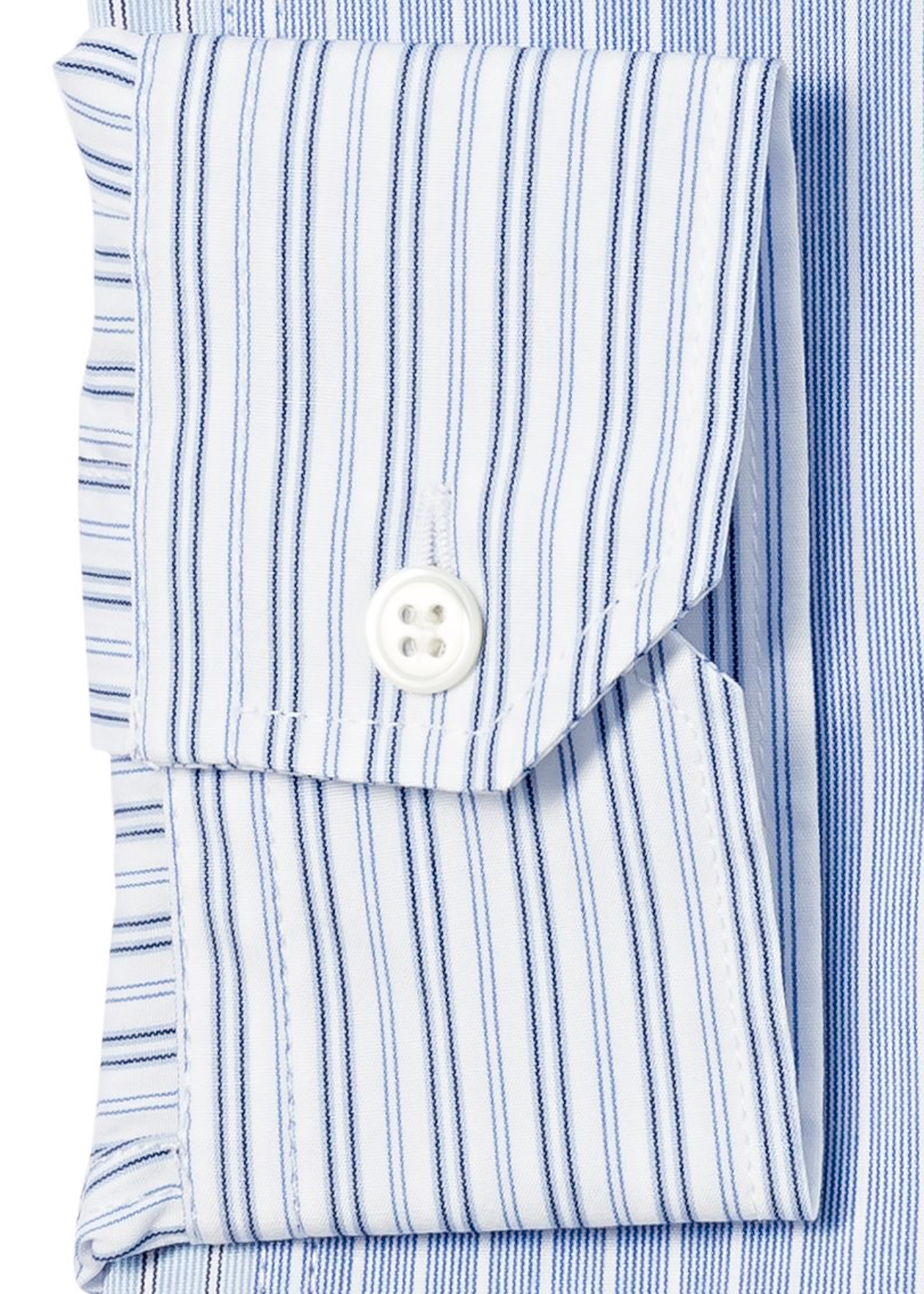 RELAXED STRIPE PATCHWORK SHIRT image number 2