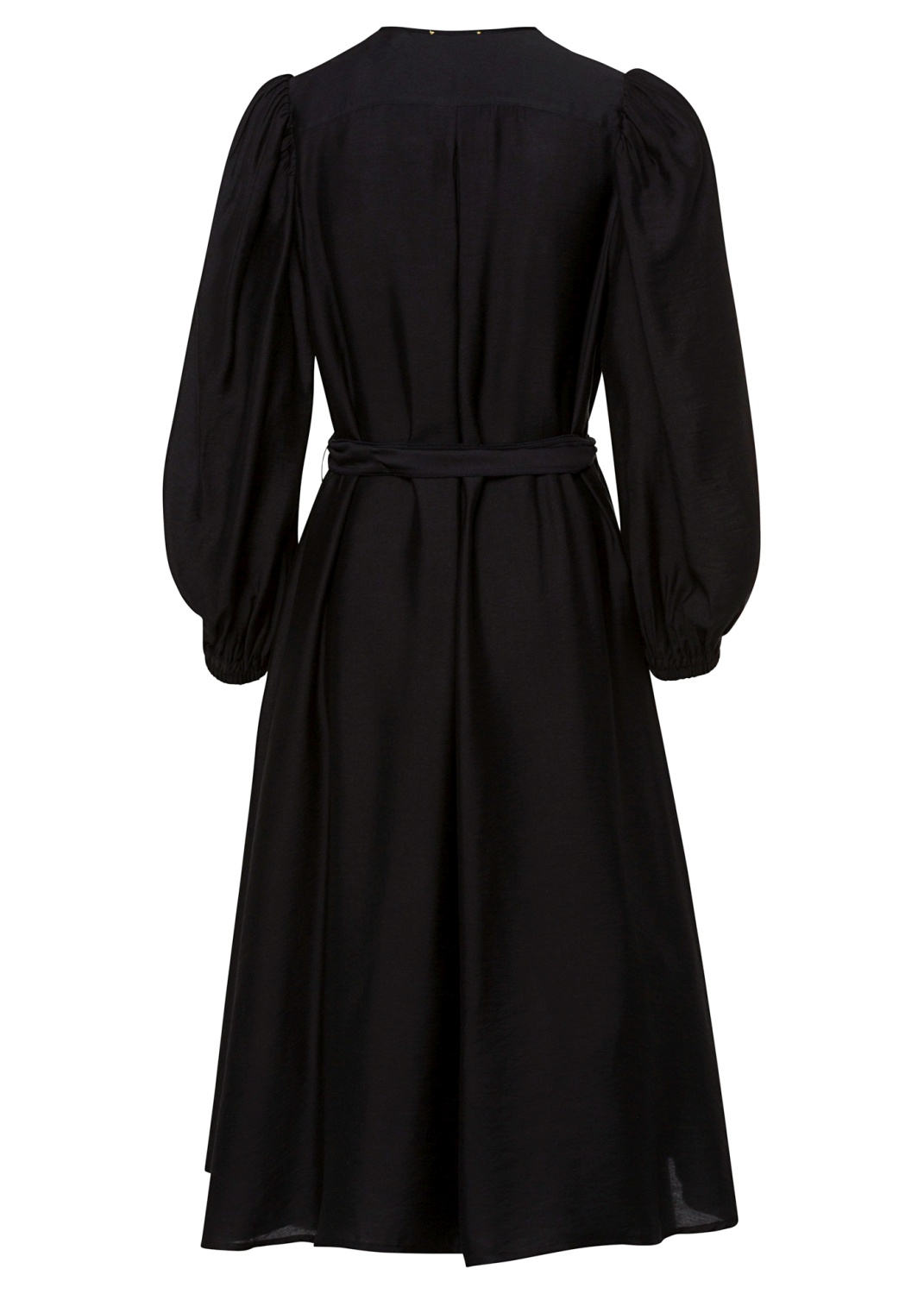 chic twill crossed dress image number 1