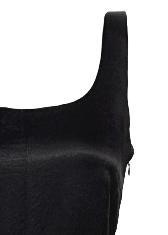 SLIM FITTED SLIP DRESS image number 2