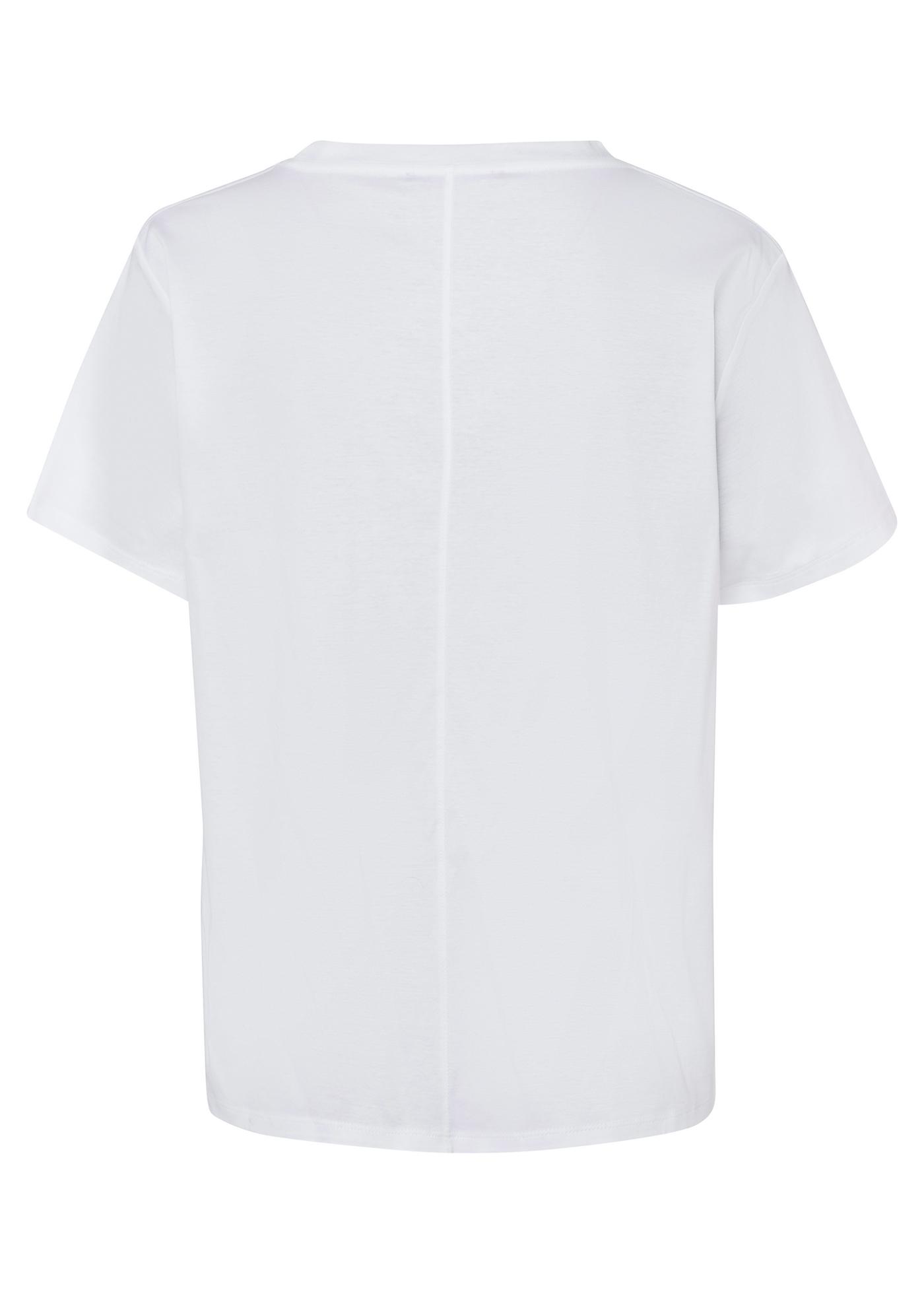 T-Shirt mit Logo-Prin image number 1