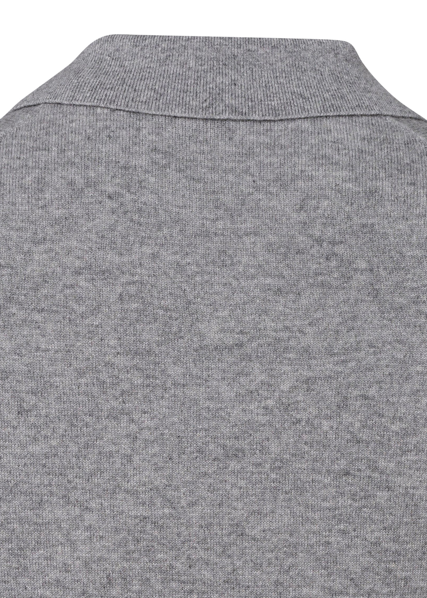 Cashmere Polo Shirt LS image number 3