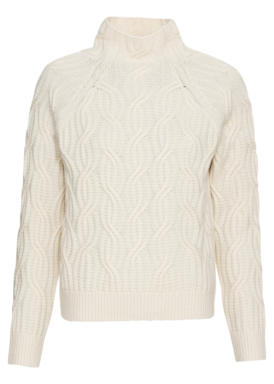 TEXTURE CABLE TURTLENECK image number 0