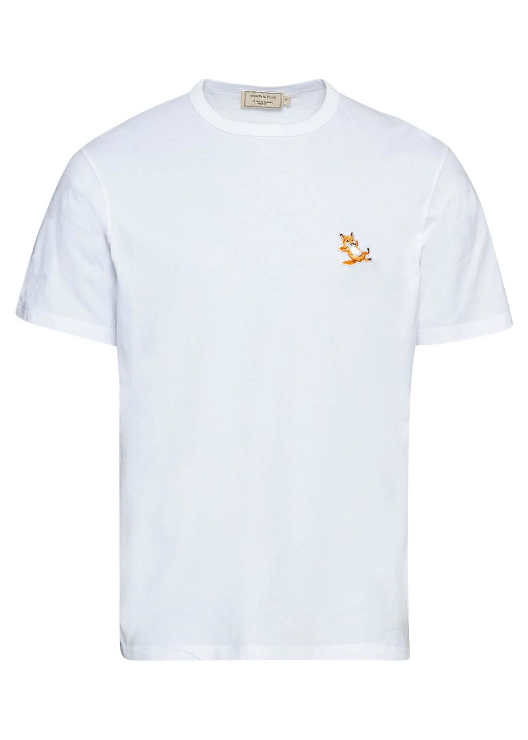 CHILLAX FOX PATCH CLASSIC TEE-SHIRT image number 0