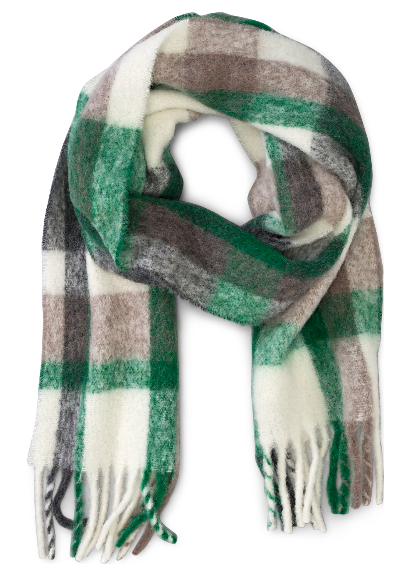 CHECKED SCARF image number 0