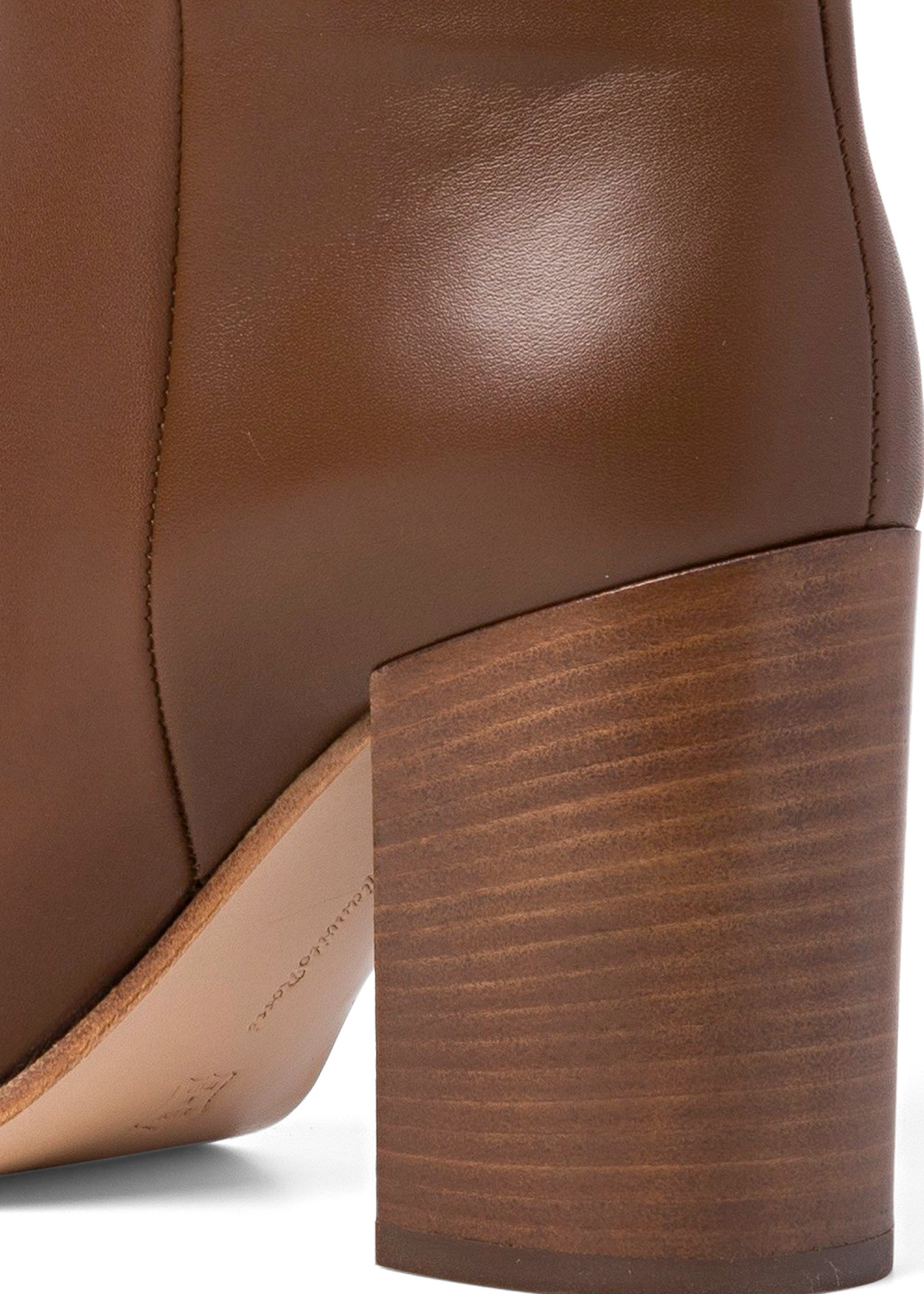 6_High Boot Nappa Stacked Heel image number 3