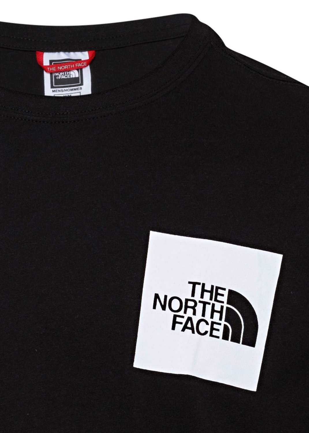 M S/S FINE TEE TNF BLACK image number 2