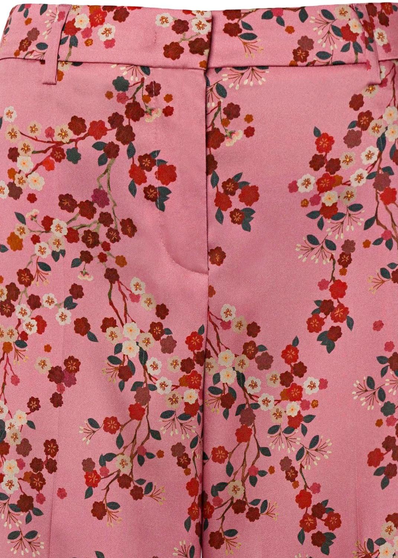 Hose mit Kirschblüten-Print image number 2