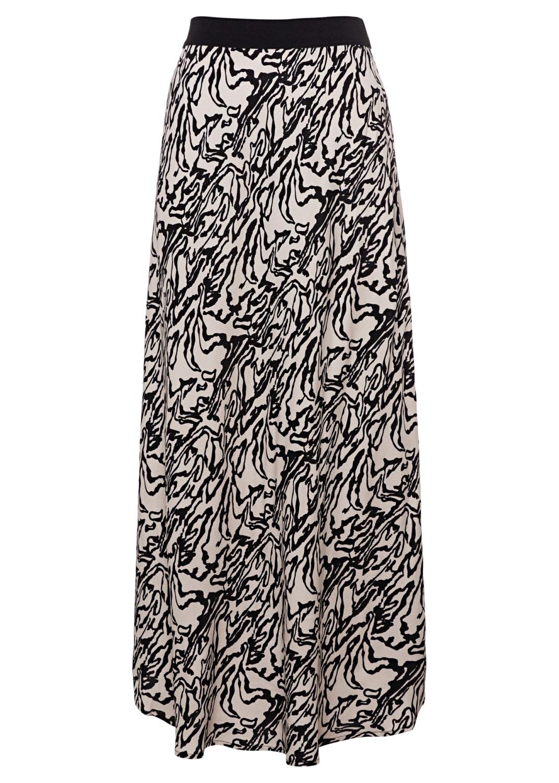 Manmade fibr skirt female image number 0