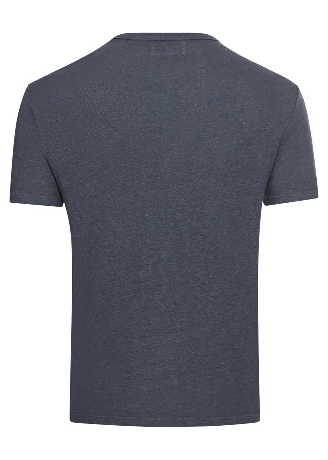 SS TEE PIECE DYED LINEN image number 1