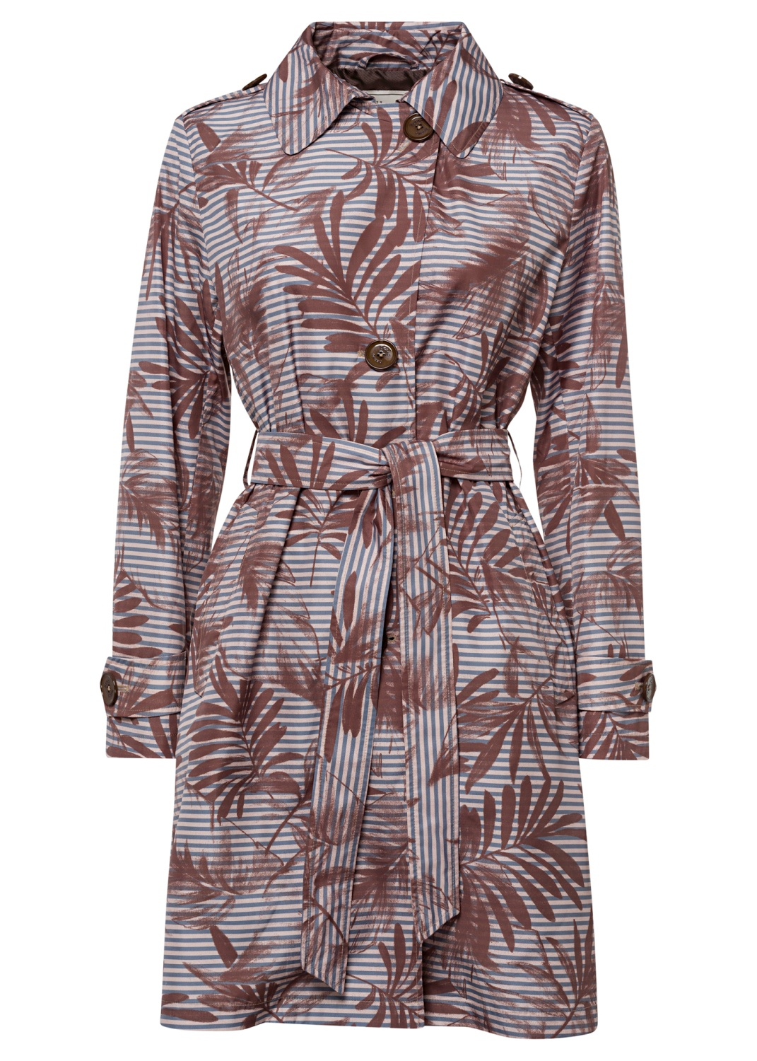 Woman's Woven Raincoat image number 0