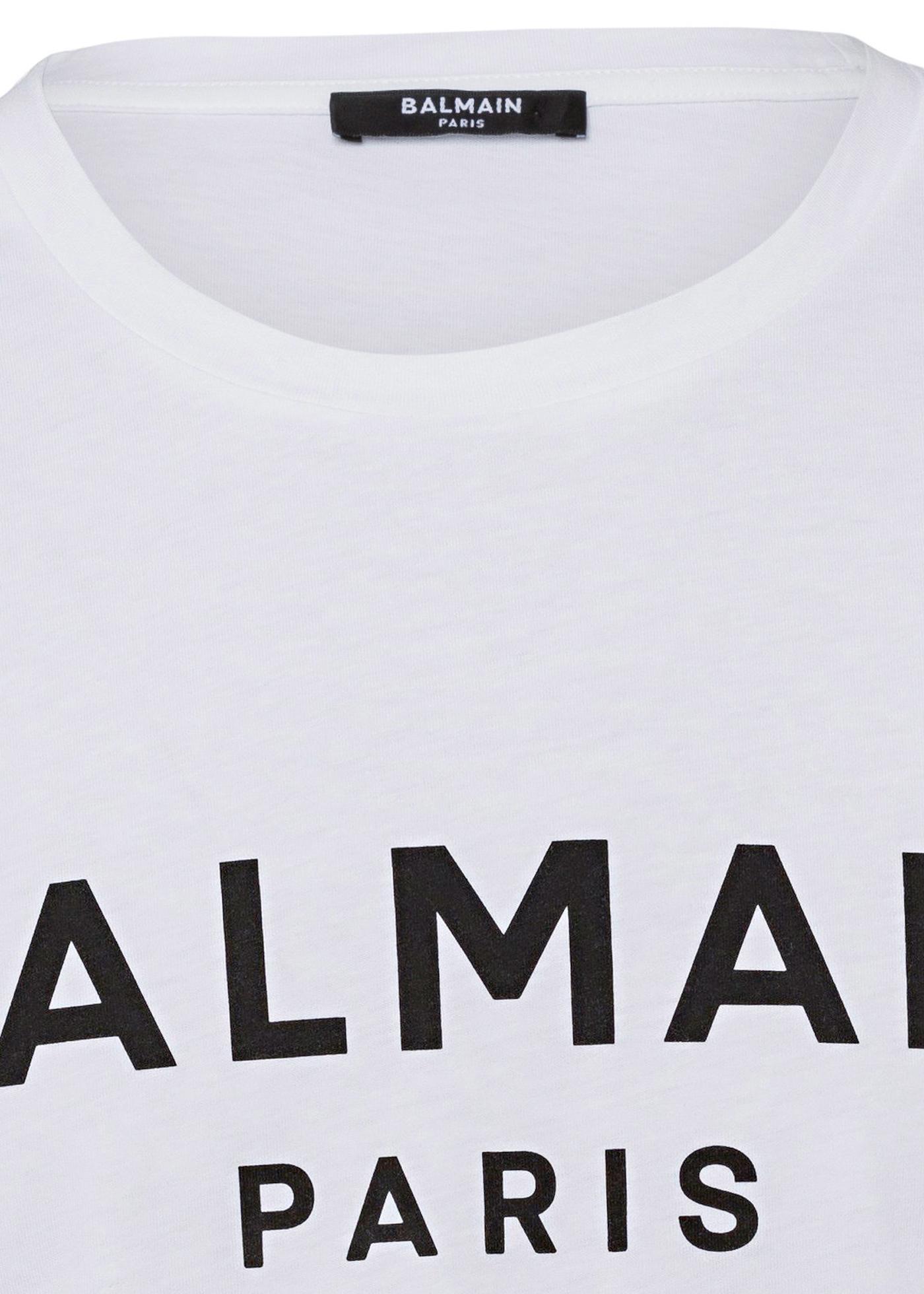 BALMAIN PRINTED T-SHIRT image number 2