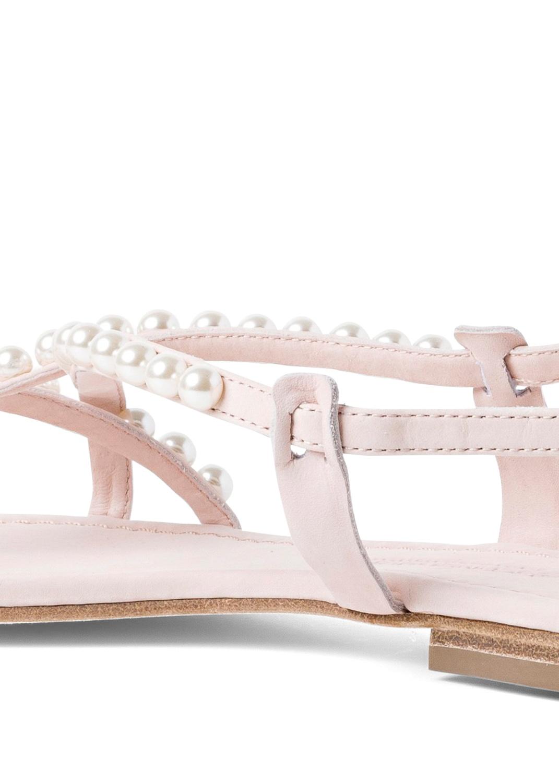 23_Elle Pearls Flat Sandal image number 3