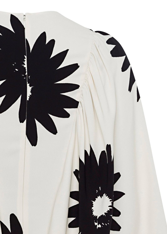 Luciana Dress Linda Floral Sable Envers Satin Print image number 3