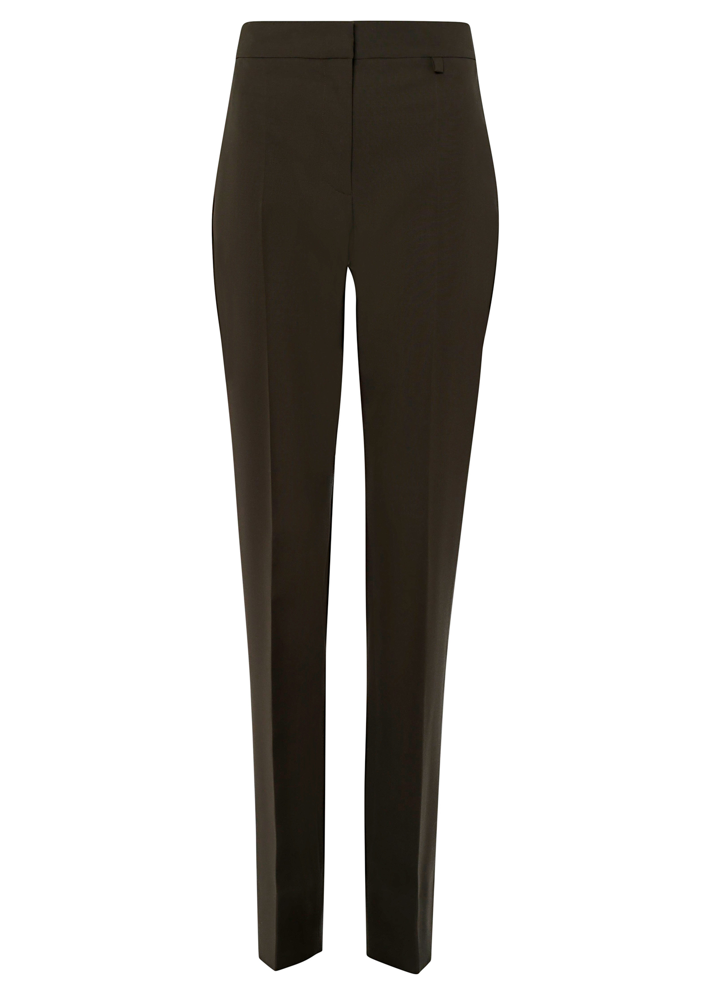 HIGH WAISTED TAPPERED TROUSERS image number 0
