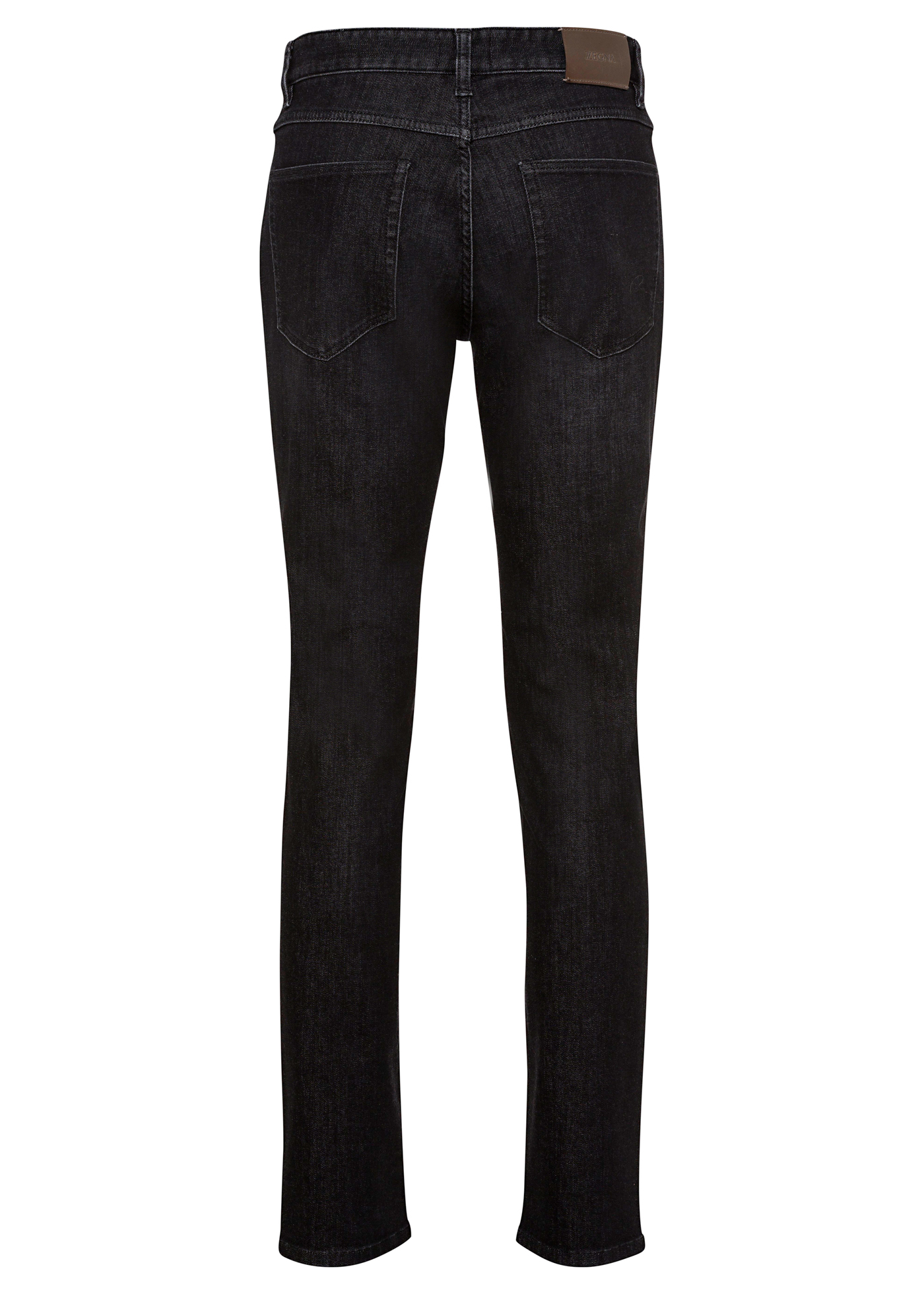 LUXE TWILL BLACK DENIM image number 1