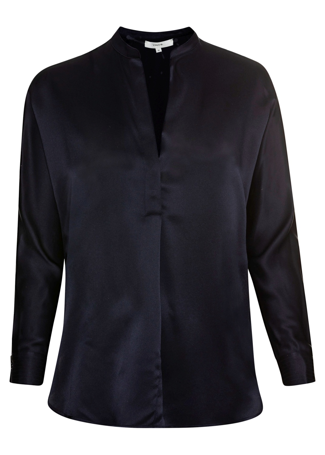 BAND COLLAR BLOUSE image number 0