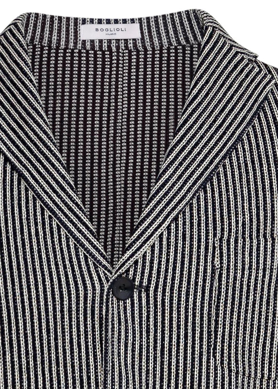 Strick Blazer Gestreift image number 2