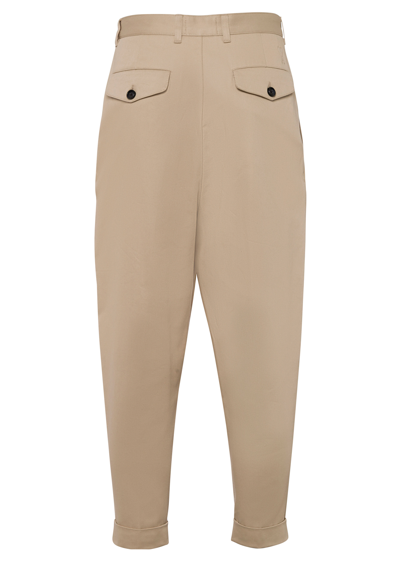 CARROT CHINO TROUSERS image number 1