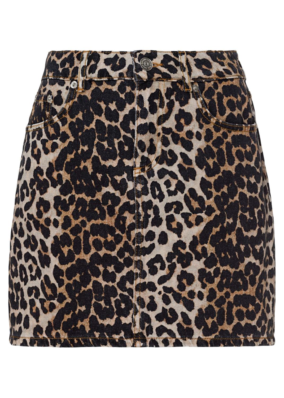 Skirt Print Denim image number 0