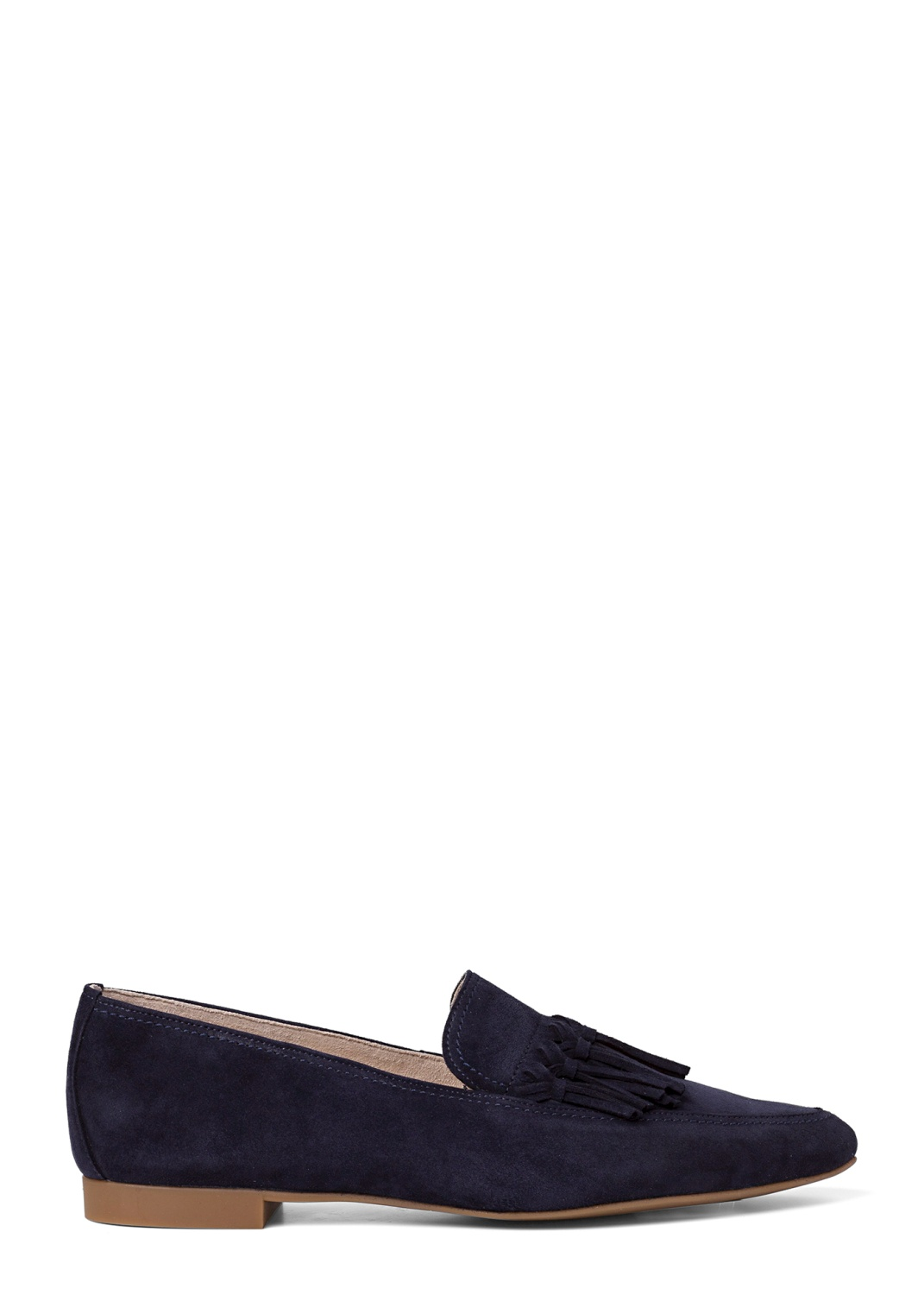 14_Pointy Loafer Tasseln Suede image number 0