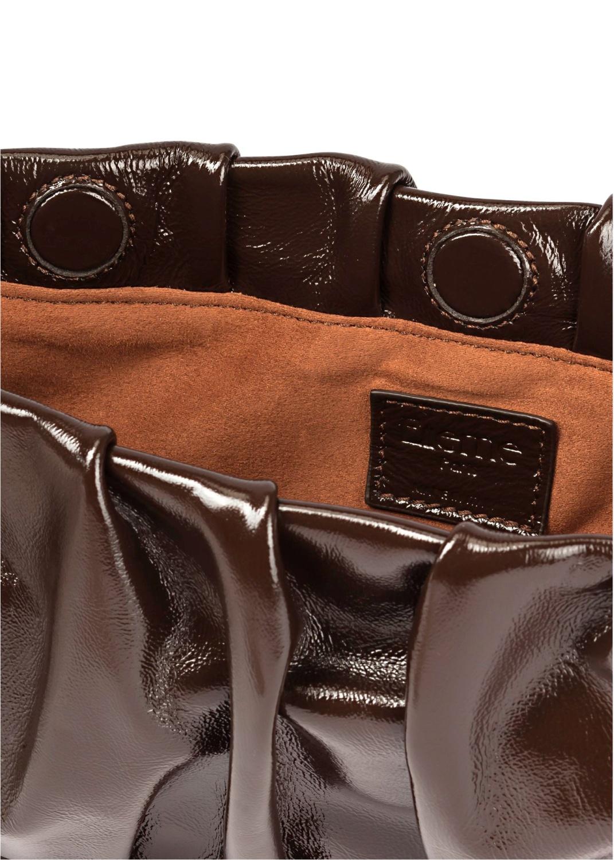 Long Vague Patent Baguette Bag image number 3