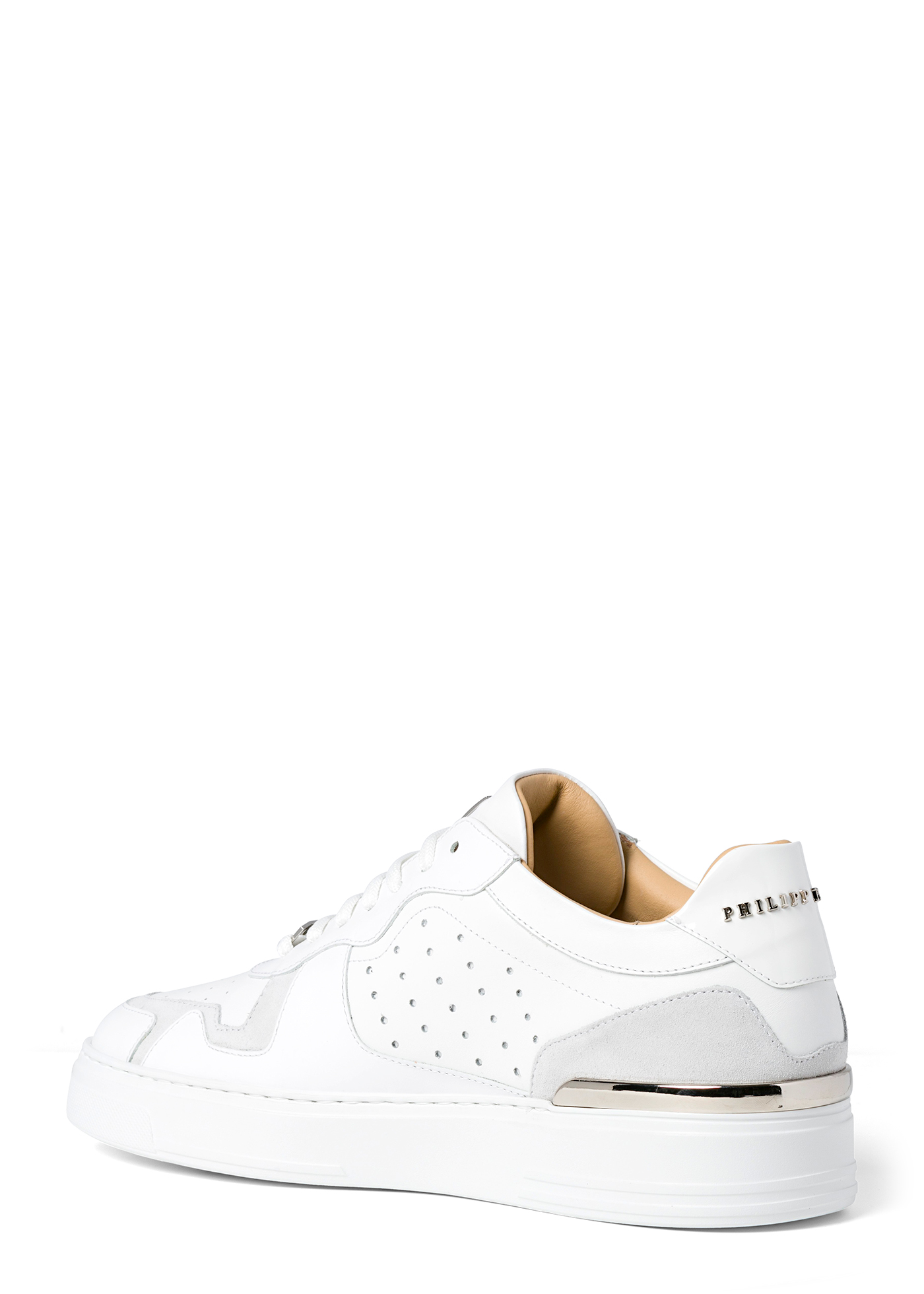 Lo-Top Sneakers mix leathers G.O.A.T. TM image number 2