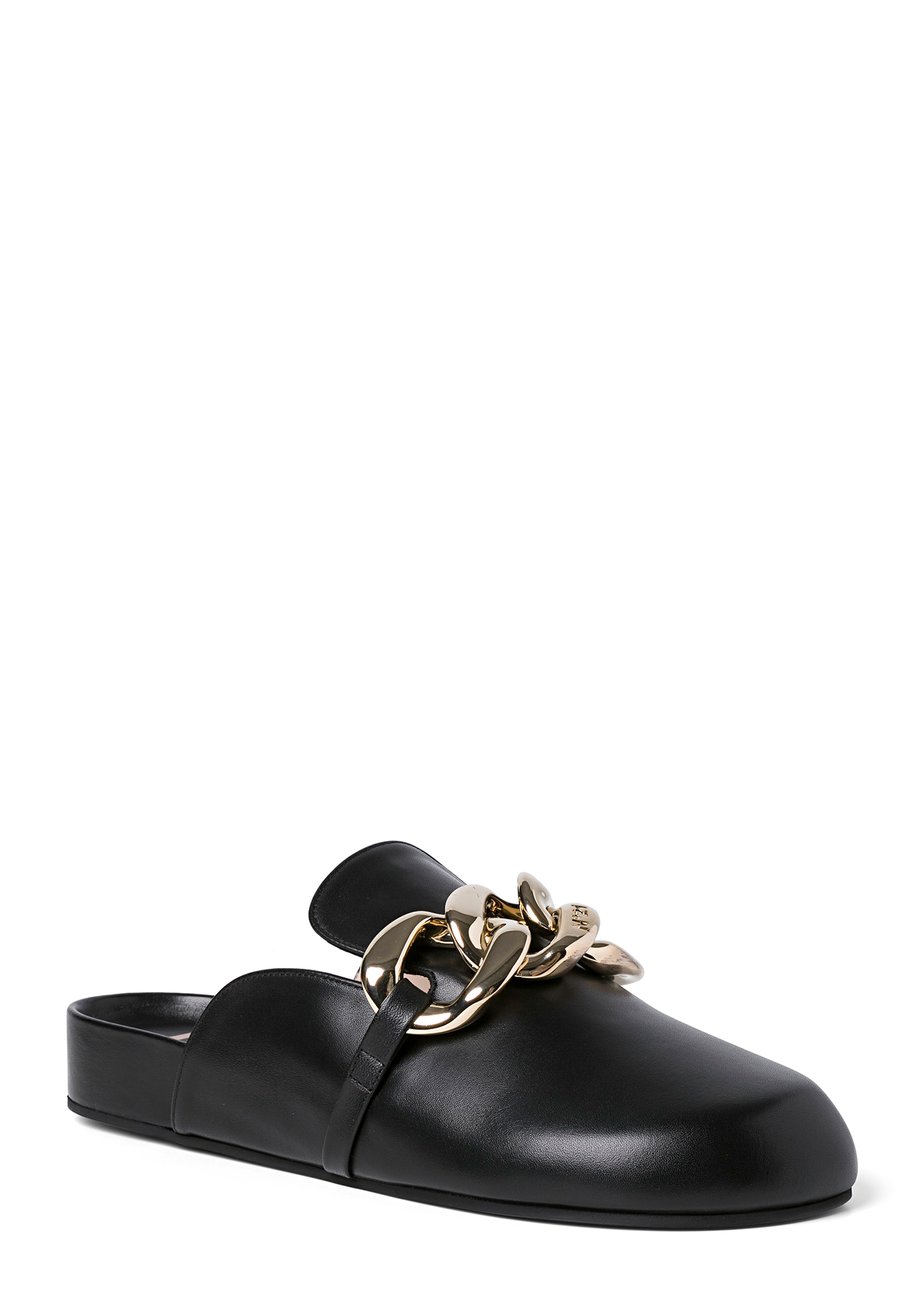 Slippers Black (Gold Chain) image number 1
