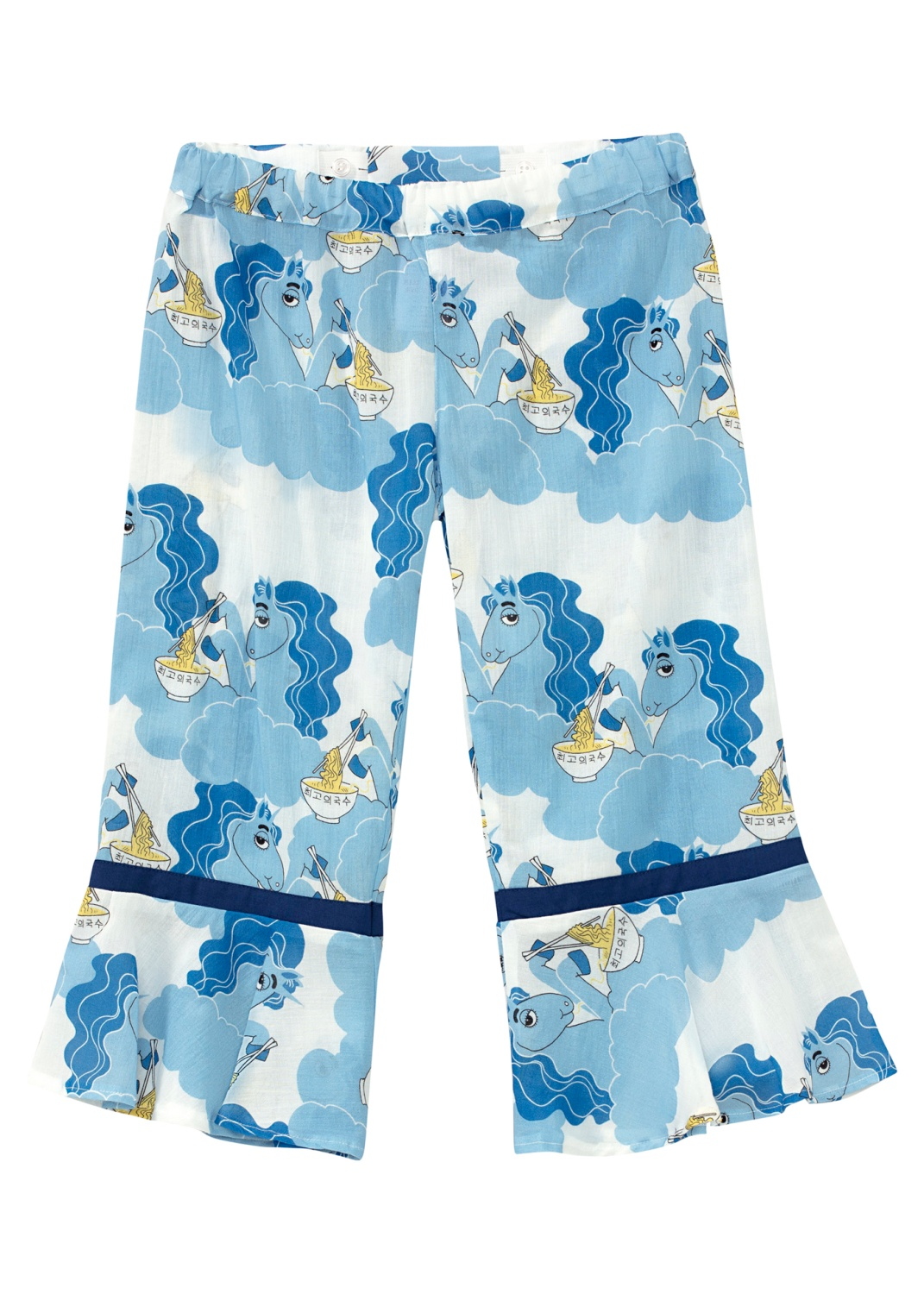Unicorn noodles woven trousers -X- image number 0