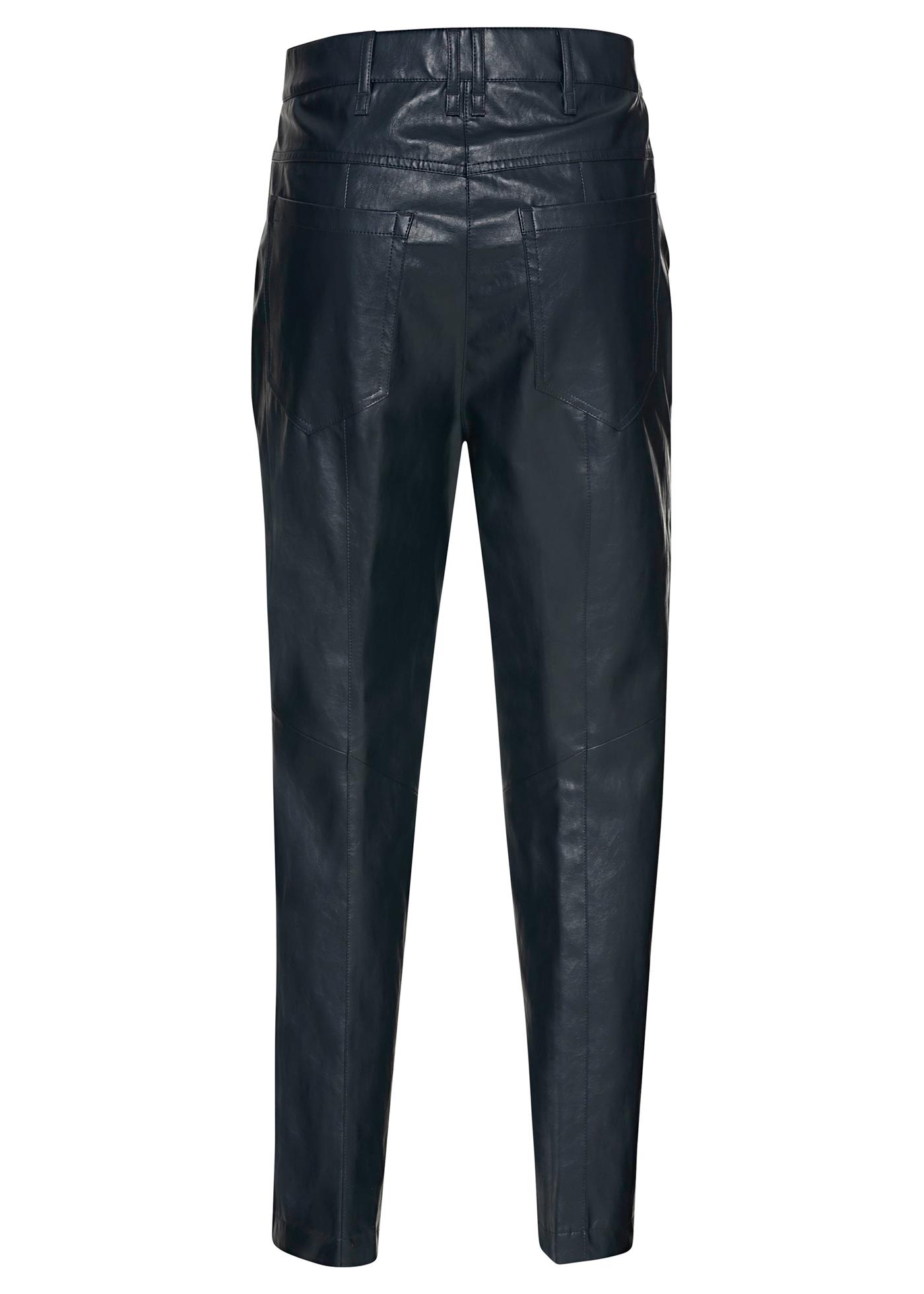 Tapered Pants in Leder-Optik image number 1