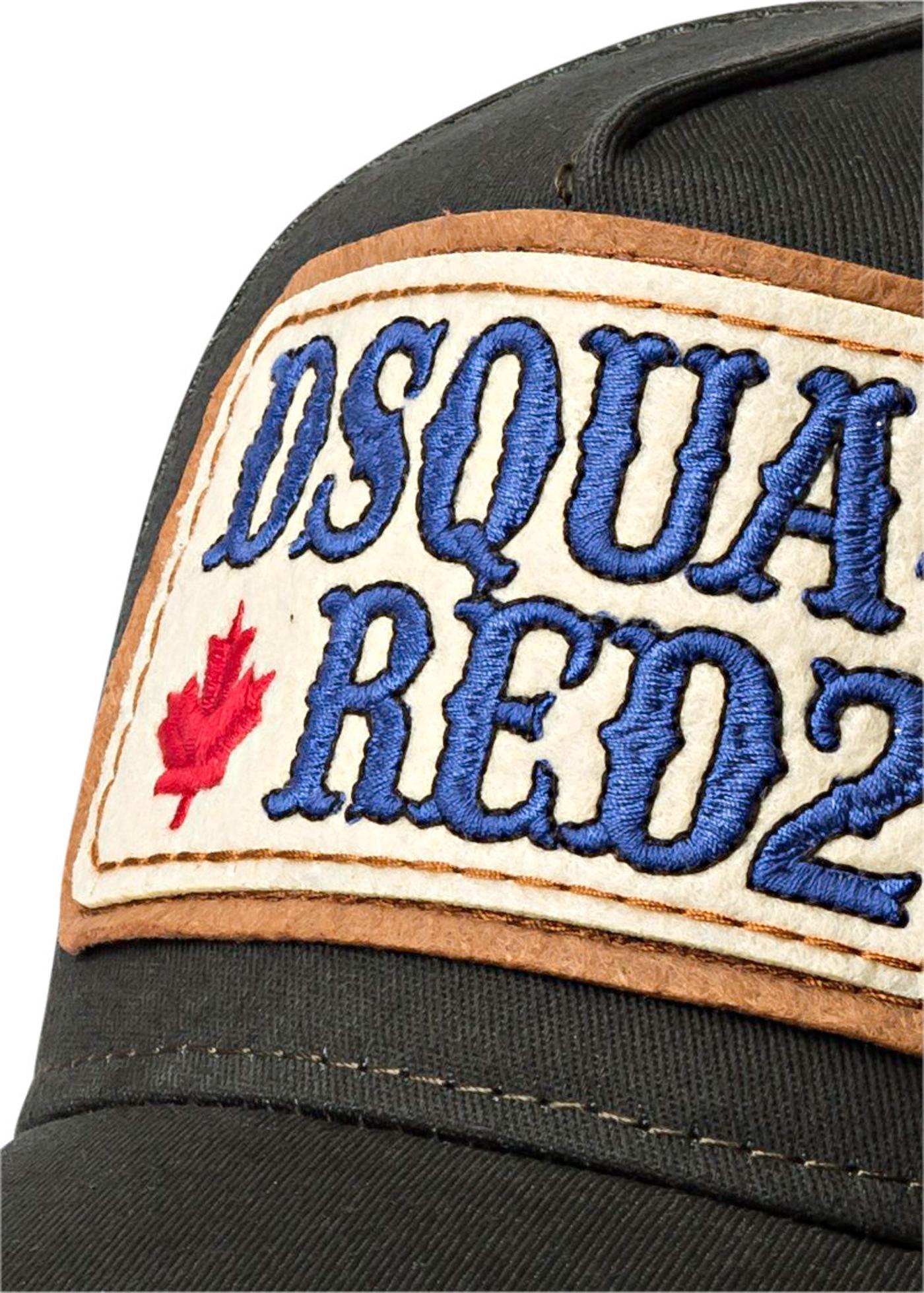 DSQU-RED2 PATCH CAP image number 1