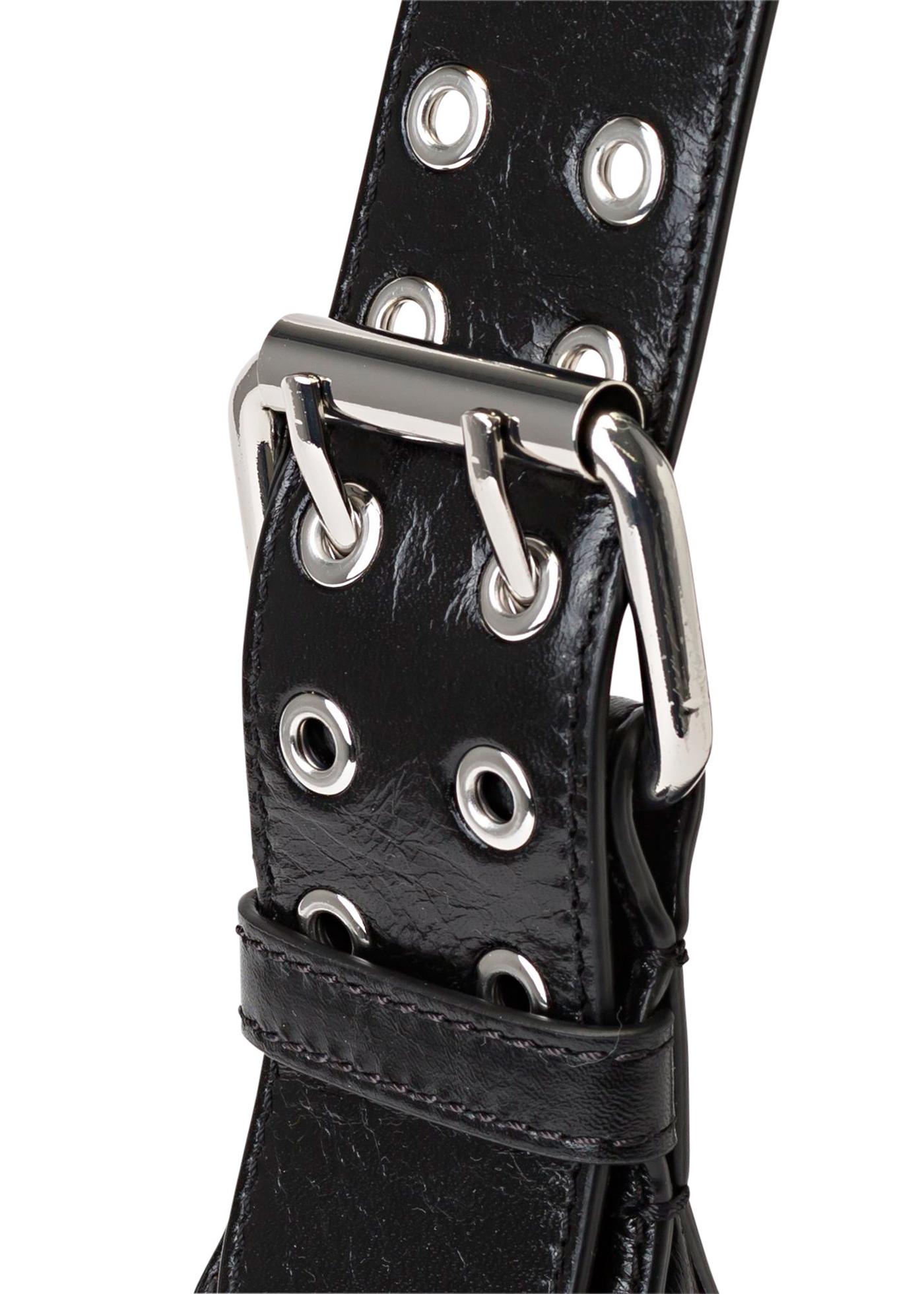 Soho Black Creased Leather image number 2