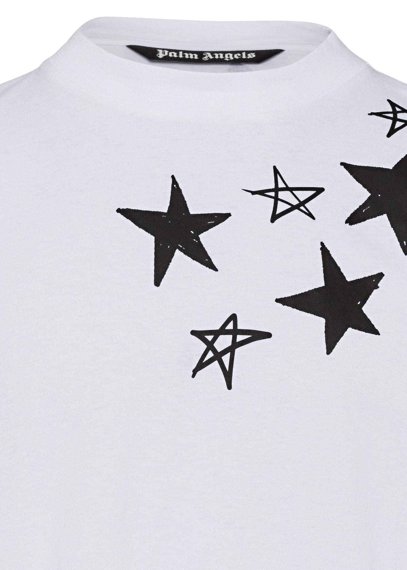 F SHOOTING STARS OVERLOGO TEE image number 2