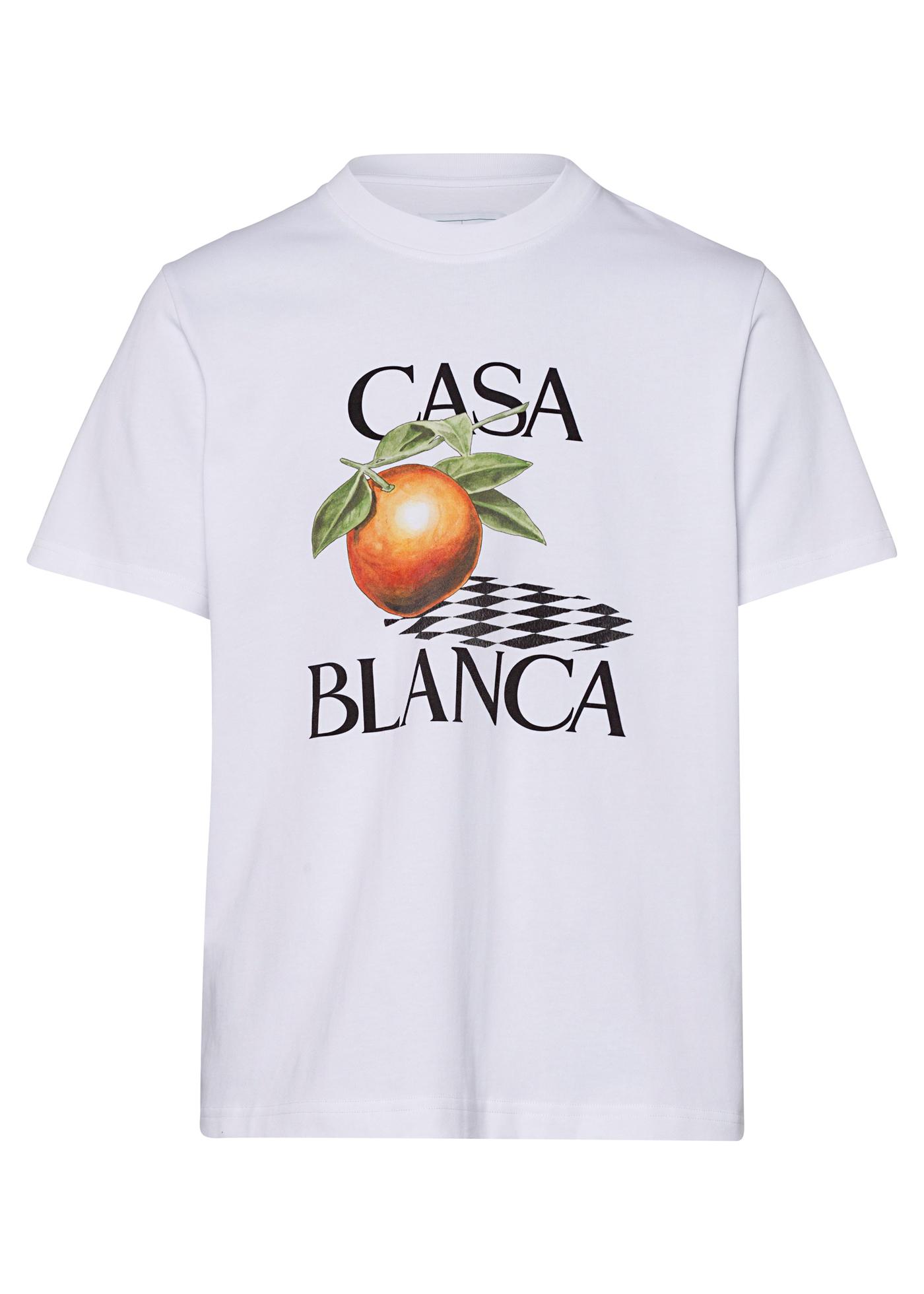 Orange Printed T-Shirt image number 0