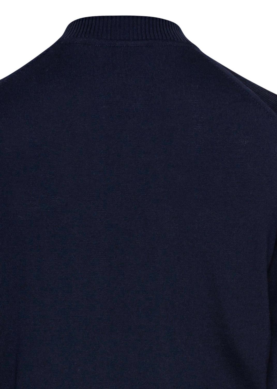 Zip cardigan,baseball,Merino wool image number 3