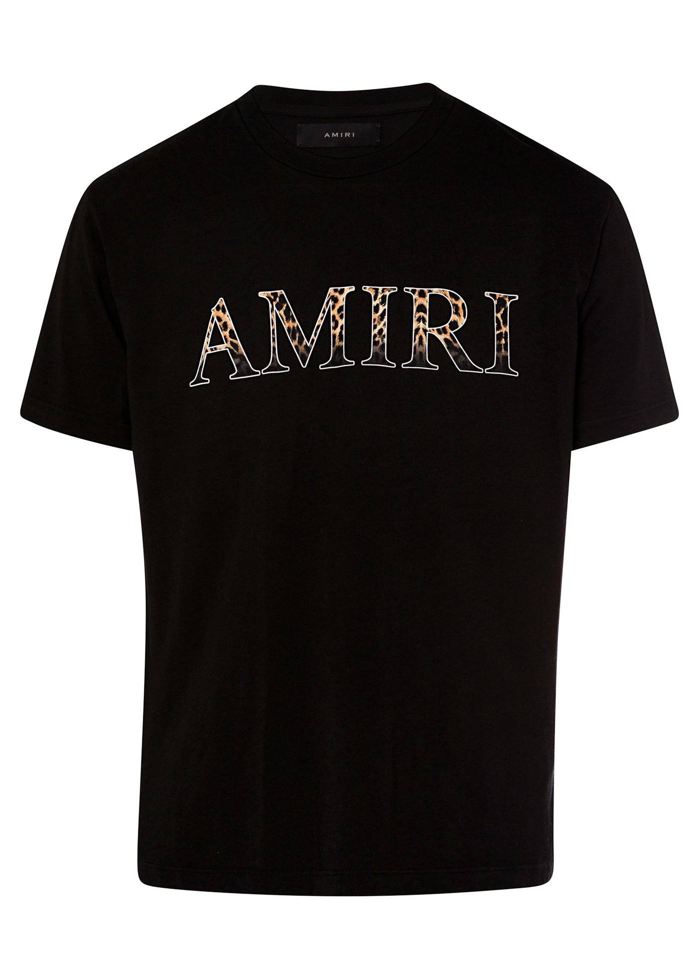 AMIRI LEOPARD TEE image number 0