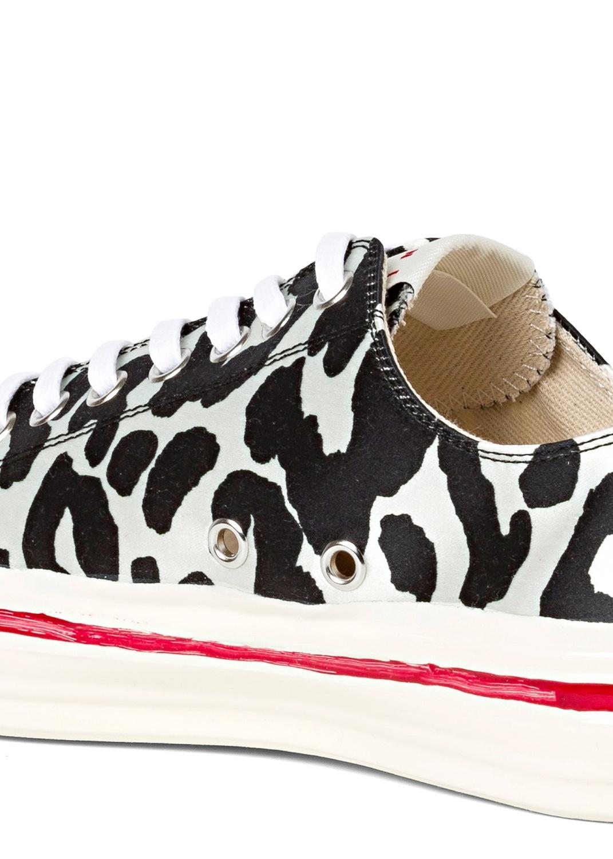Low Top Sneaker Zebra Print image number 3