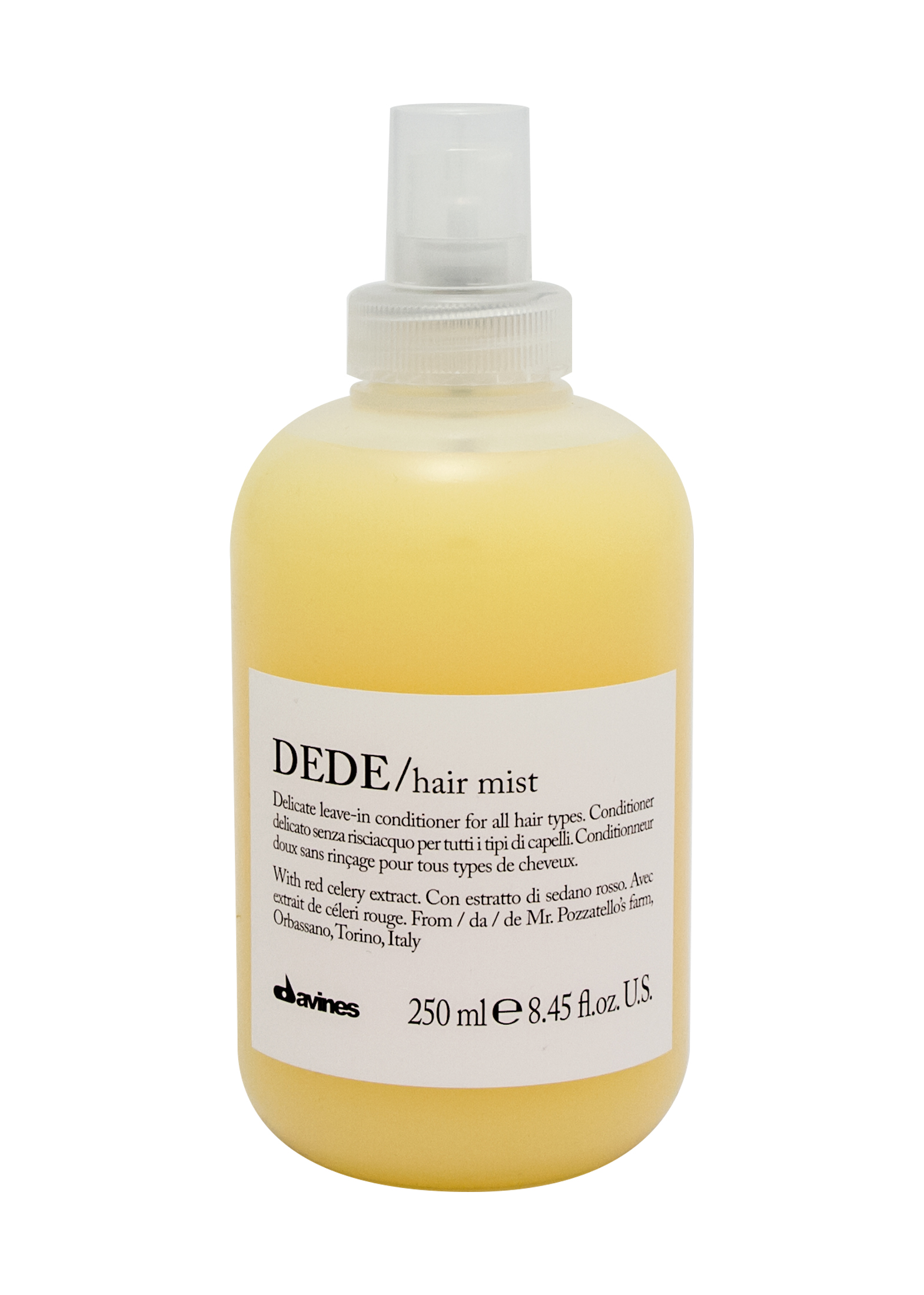 DEHC DEDE Hair Mist 250ml image number 0
