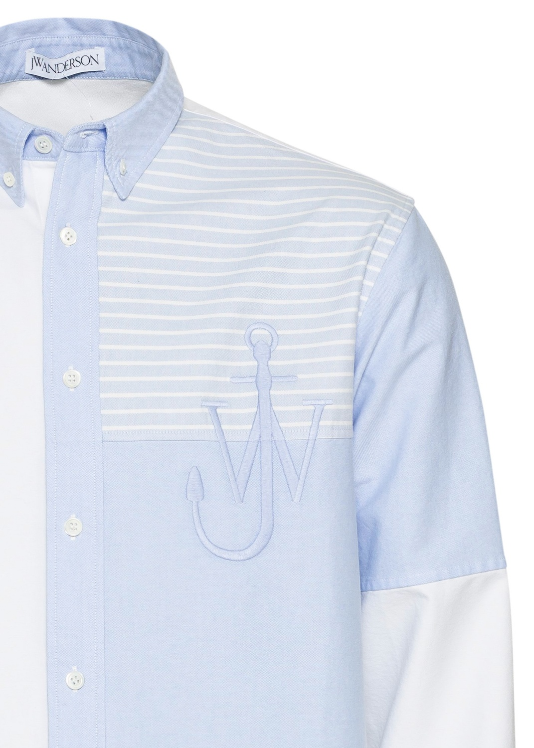 Relaxed Patchwork Shirt image number 2