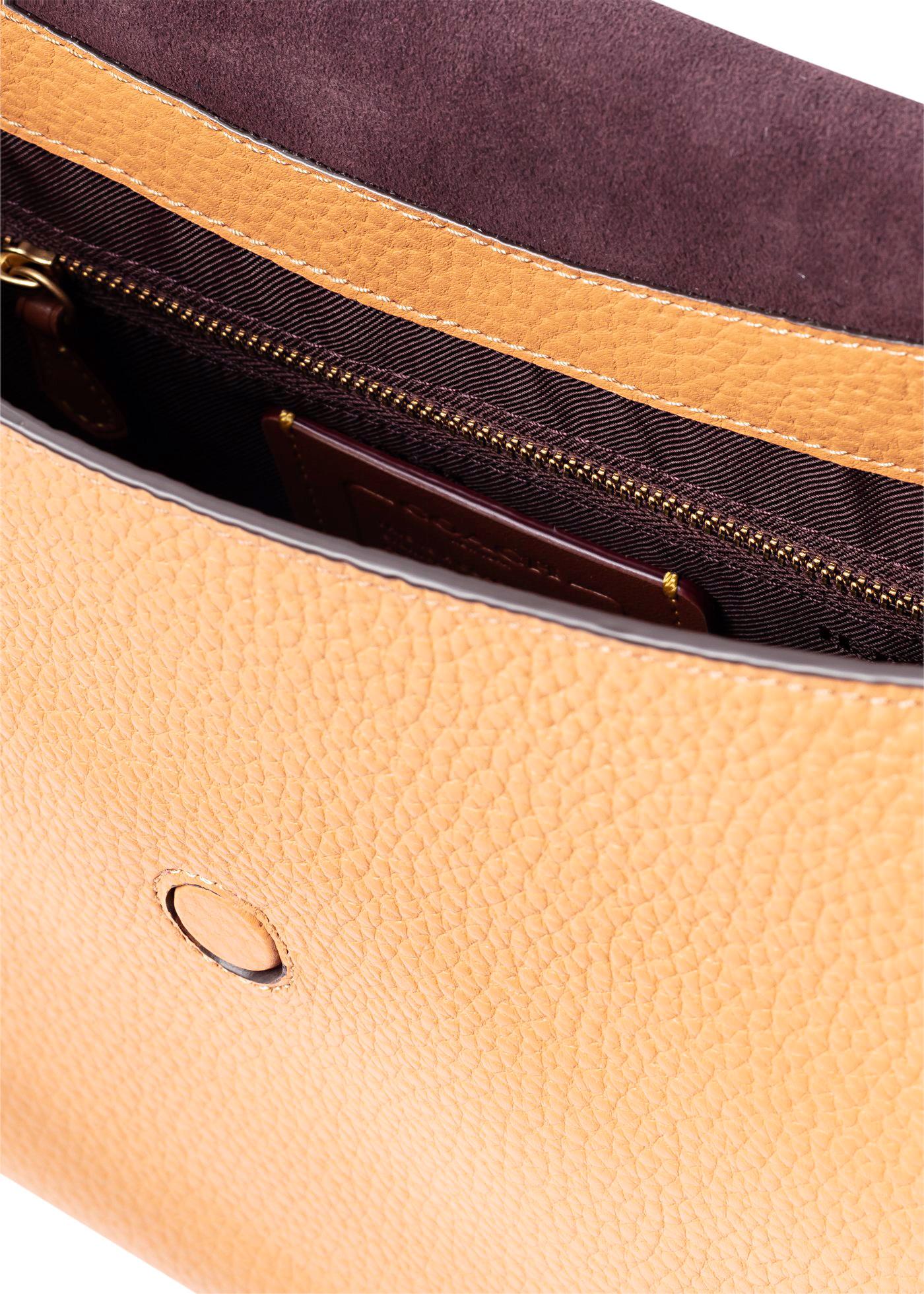 soft pebble leather may shoulder bag image number 3