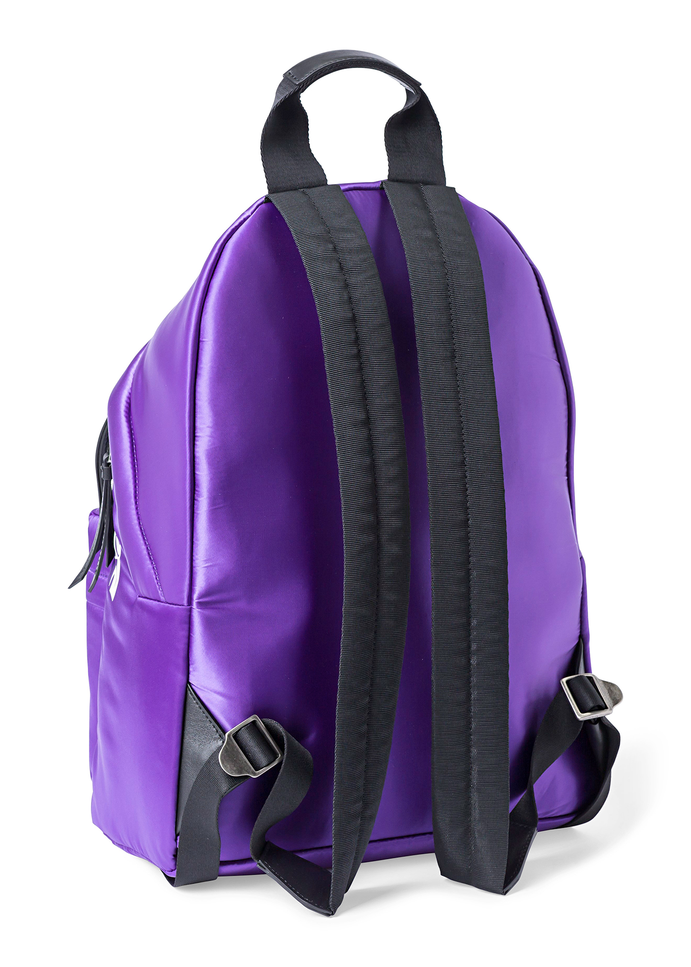 CURVED LOGO BACKPACK  PURPLE  WHITE image number 1