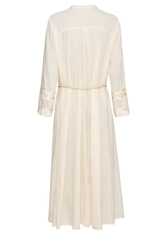plumetis cotton kaftan dress image number 1