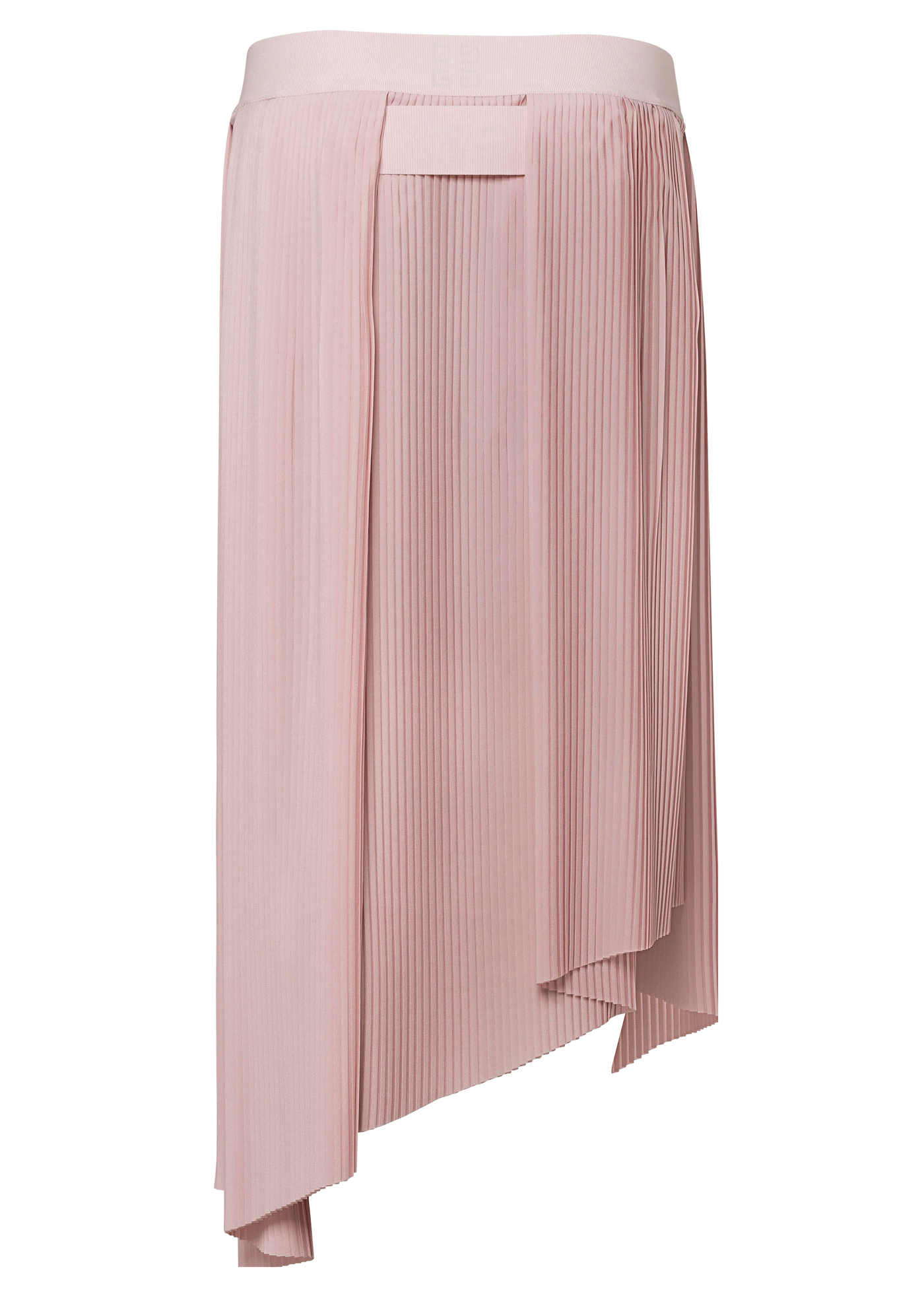 LONG ASYMETRICAL PLEATED SKIRT image number 1