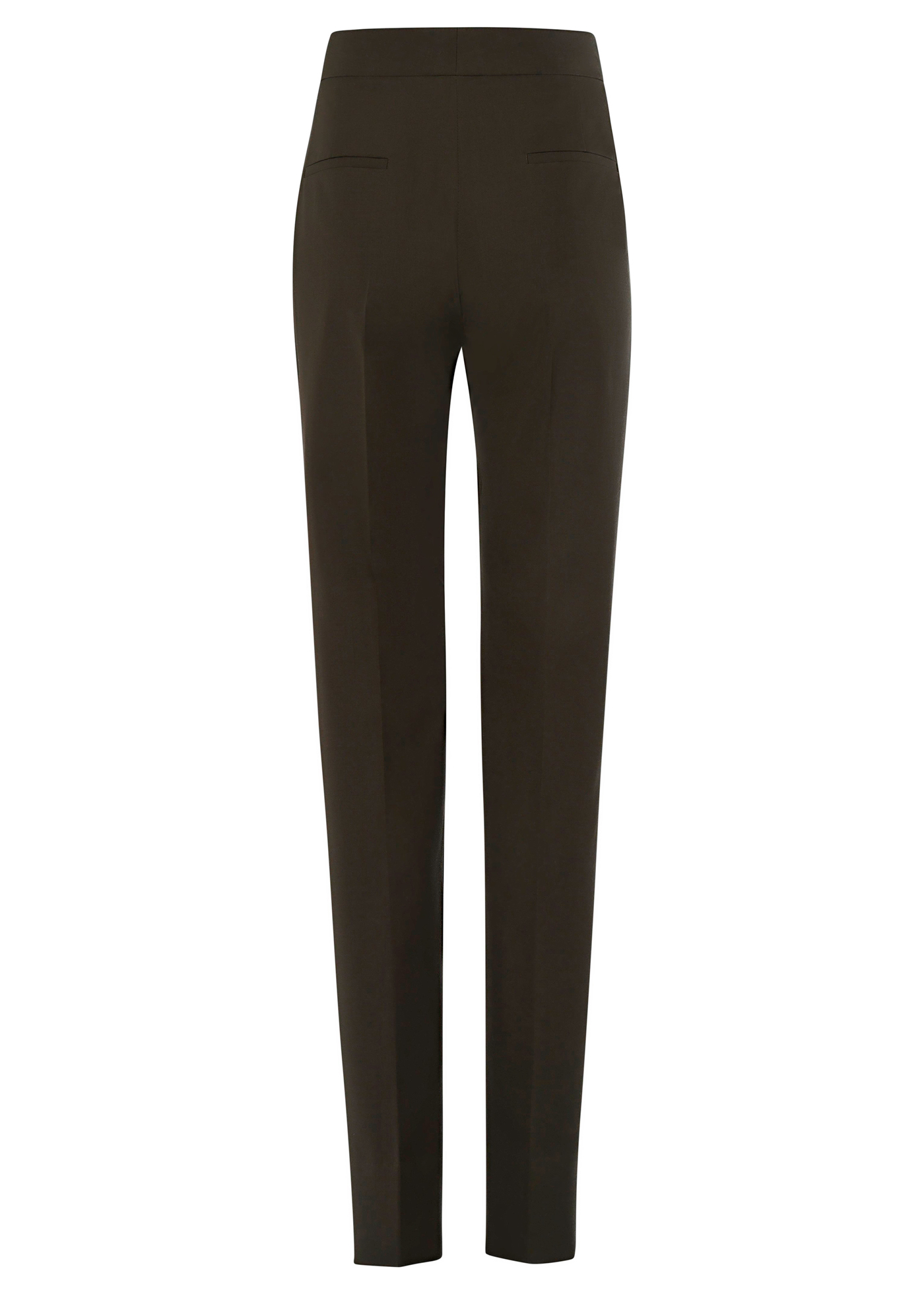 HIGH WAISTED TAPPERED TROUSERS image number 1