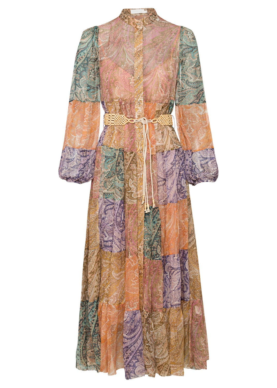 Brighton Tiered Midi Dress image number 0